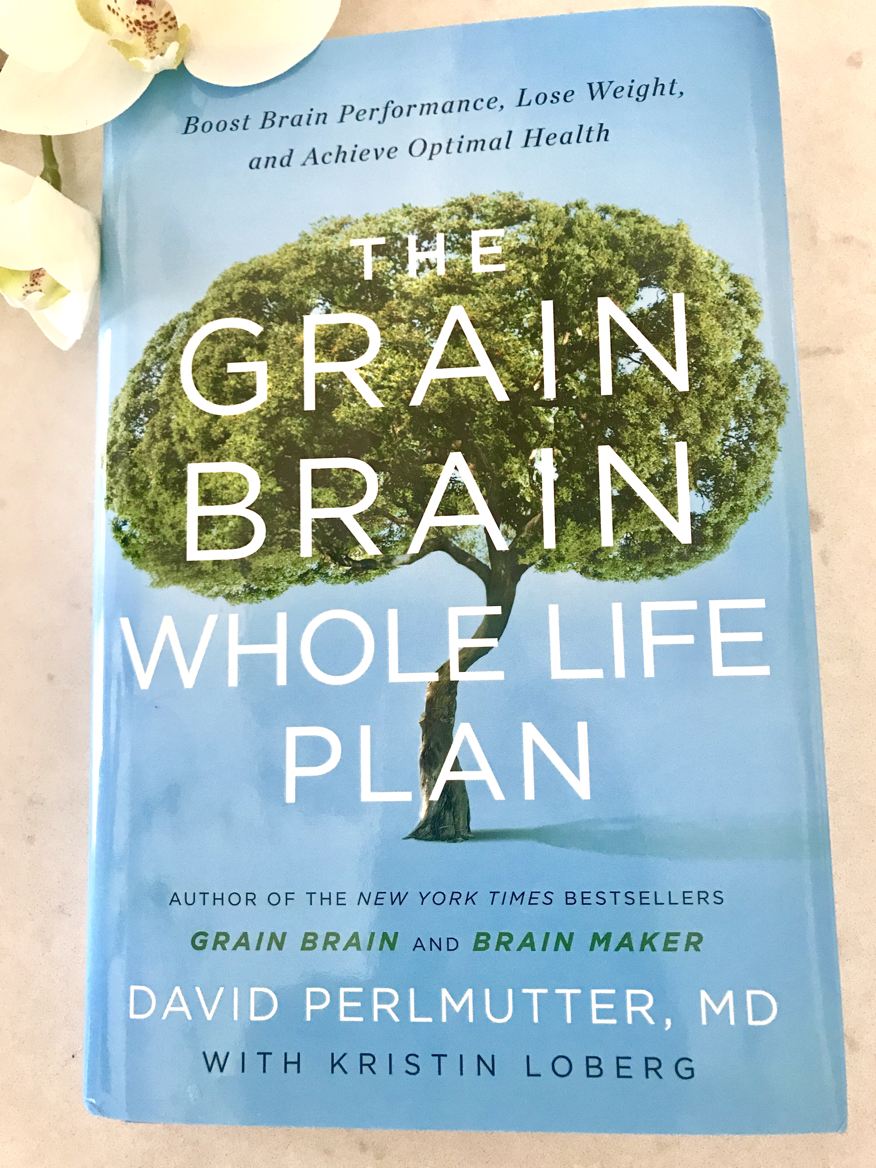 "RECOMMENDED READING! ""THE GRAIN BRAIN, WHOLE LIFE PLAN"""