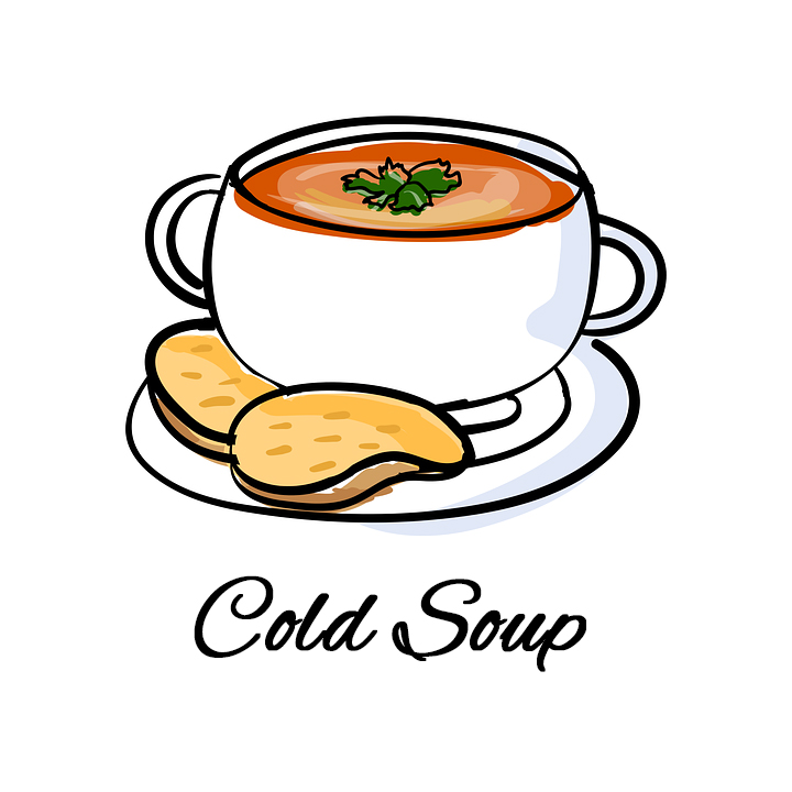 REFRESHING COLD SOUPS ALL THIS WEEK!
