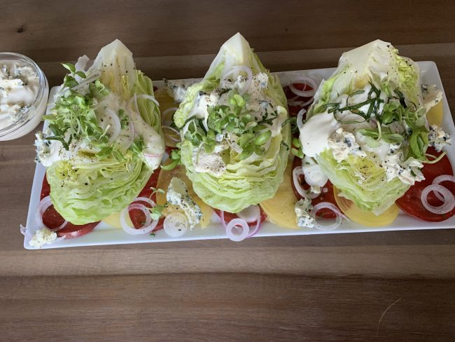 WEDGE SALAD FOR DAD ON FATHER'S DAY!